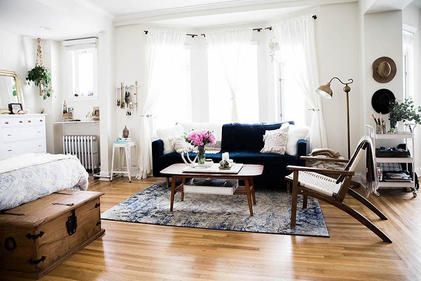 Мебель для спальни-гостиной должна быть красивой и функциональной