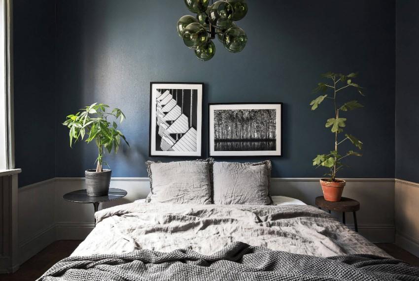 Предпочтения в способах оформления пространства комнаты будут напрямую зависеть от цветовой гаммы отделки, меблировки и декора