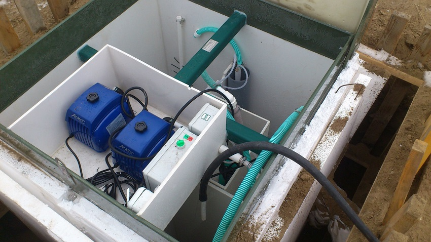Монтаж септического оборудования