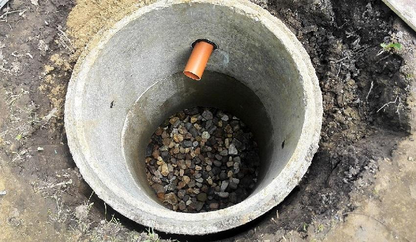 Однокамерного септик для строительства канализации
