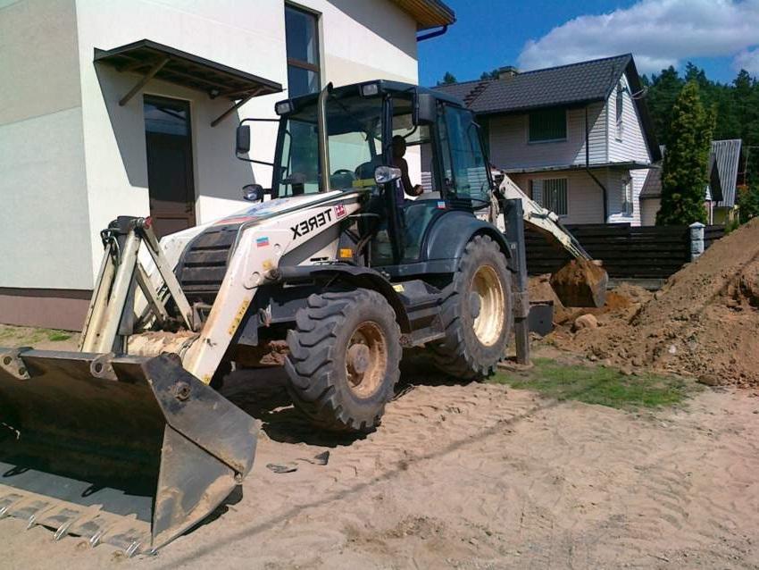 Подготовка участка под строительство канализации