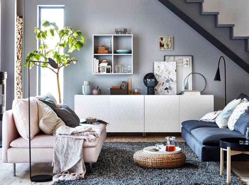 Наполнить помещение свежестью удастся при использовании скандинавского стиля