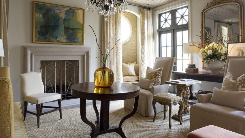 Мебель в гостиную в классическом стиле должна быть выдержана в определенном направлении