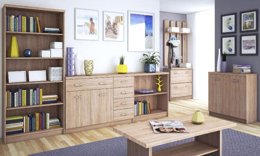 Модульная мебель для гостиной пользуется широкой популярностью благодаря своему удобству, функциональности, легкости в использовании