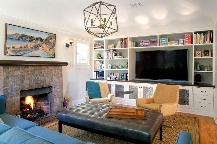 Мебель из натурального дерева стоит очень дорого, поэтому в большинстве случаев из него делают только фасад, остальная часть — это древесная плита