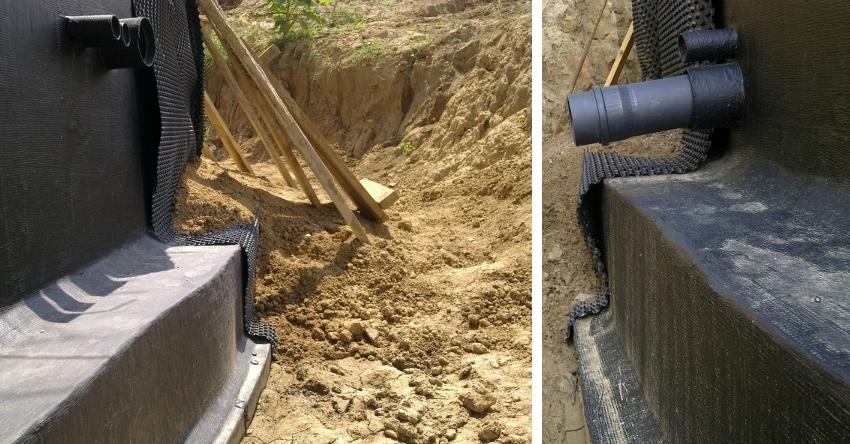 Внешнюю гидроизоляцию лучше выполнить на этапе строительства дома