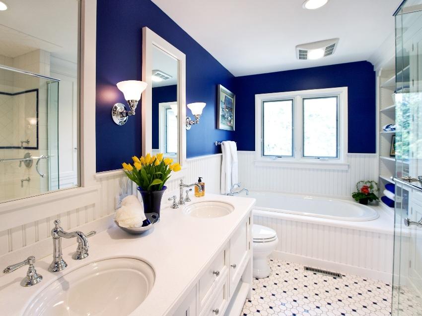 Правильное проектирование ванной комнаты и обустроенного туалета в частном доме – залог безопасности и удобства