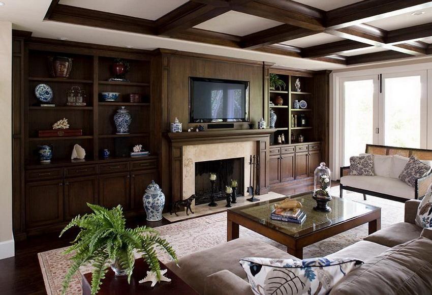Стенка в гостиную сделанная под заказ имеет преимущество в том, что она создается индивидуально для определенной гостиной