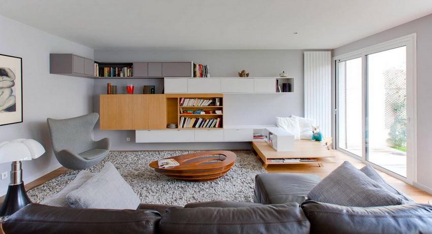 Стенка в гостиную в современном стиле: стильный и функциональный элемент обстановки