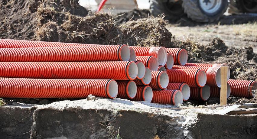Трубы для наружной канализации - необходимый элемент обустройства системы