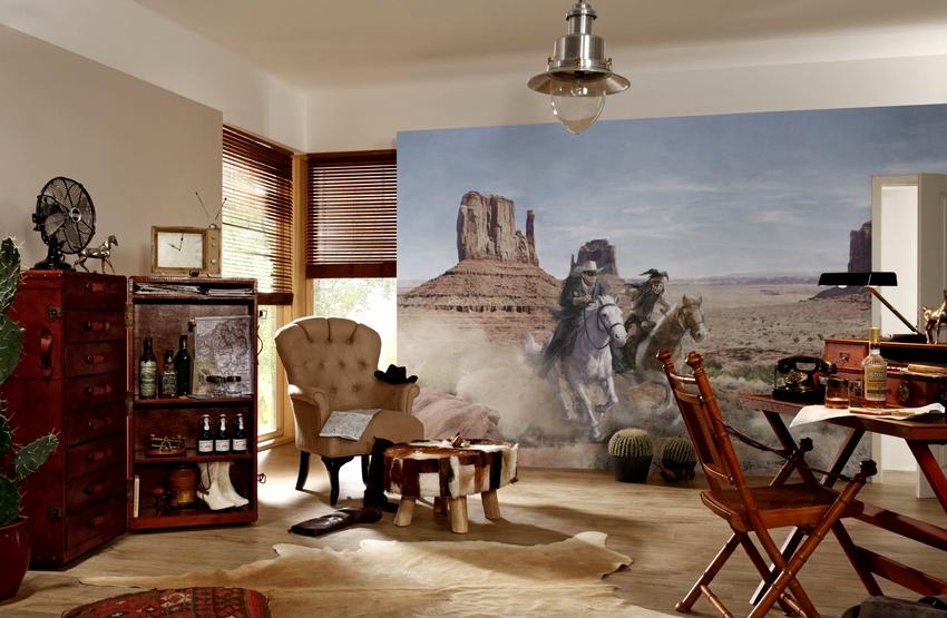 Вертикальные изображения способствуют визуальному вытягиванию помещения в высоту, а горизонтальные расширяют пространство