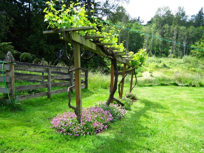 Деревянные бруски должны пройти обязательную обработку против гниения в грунте