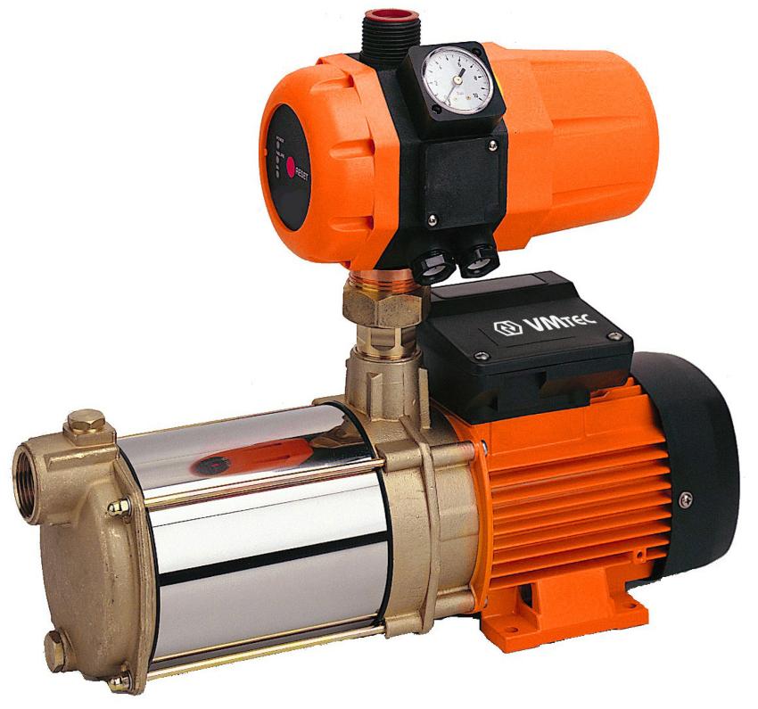 Правильно подобранная автоматика способна организовать качественное водоснабжение и без гидроаккумулятора