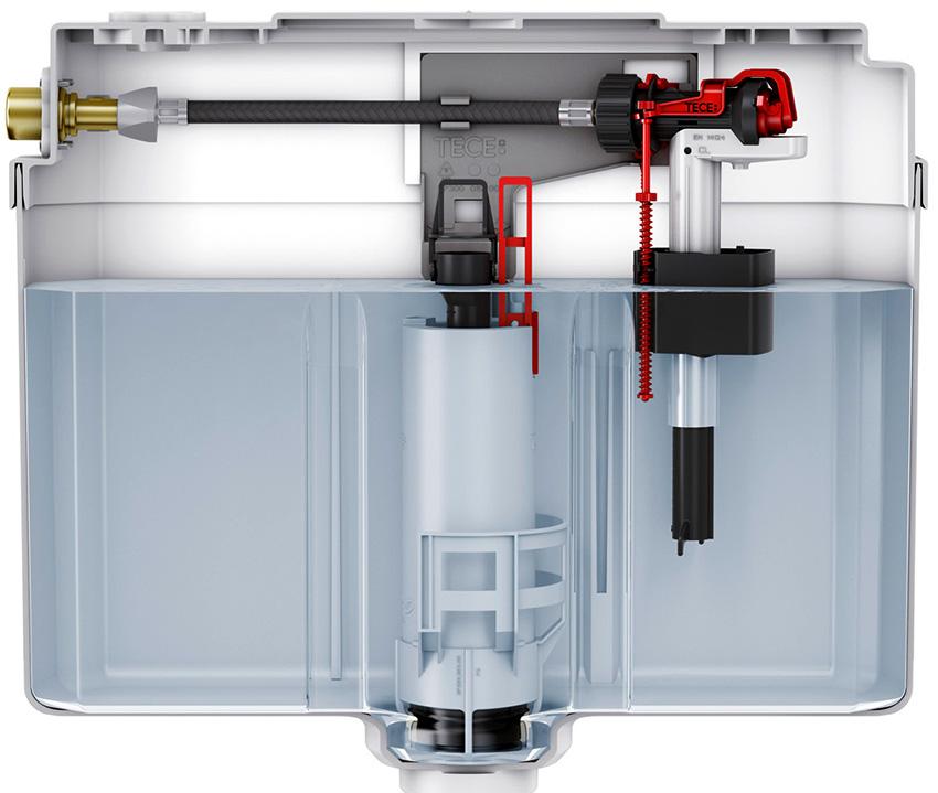 Преимущества арматуры с боковой подводкой - это простота конструкция и невысокая цена