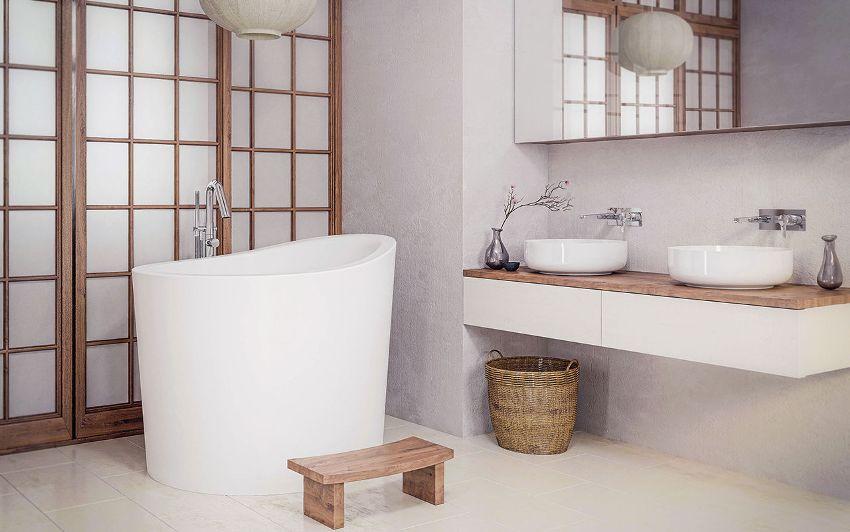 Акриловые сидячие ванны отличаются разнообразием размеров и форм
