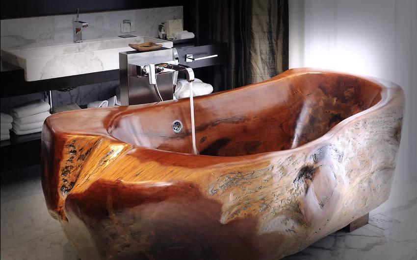 Стандартная ширина сидячей ванны составляет 70 см