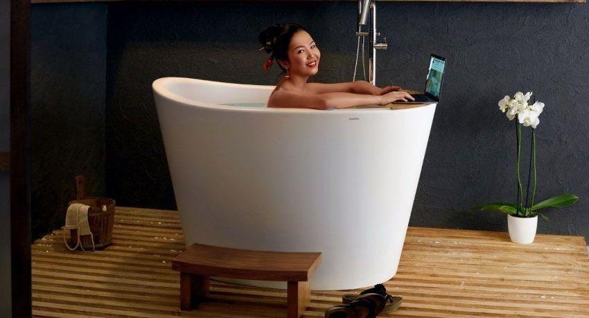 Акриловые сидячие ванны созданы с помощью новейших технологий
