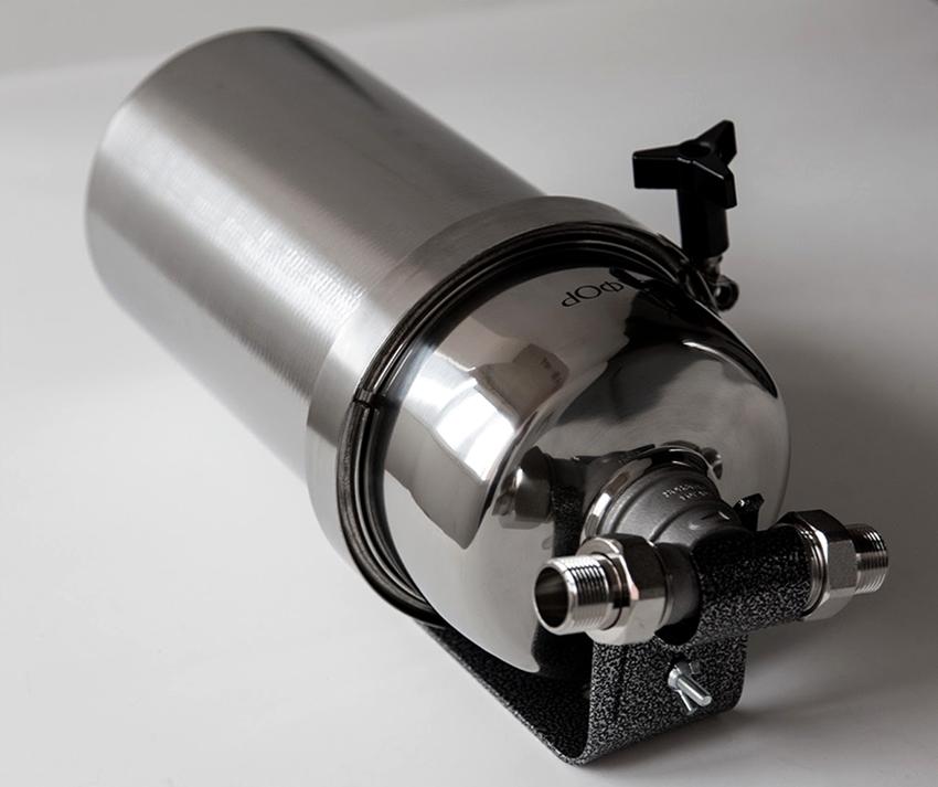 Также рекомендуется установить фильтр, если в воде находится слишком много хлора