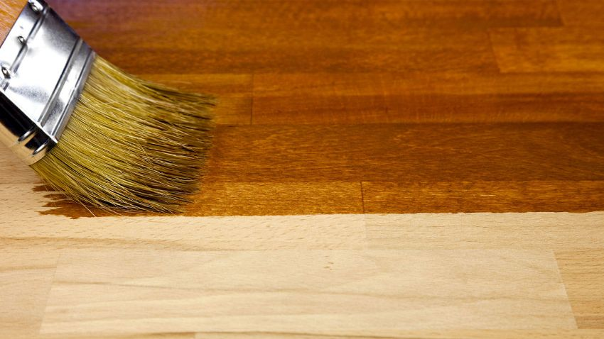 Морилку для дерева орех можно использовать для тонирования любых деревянных изделий