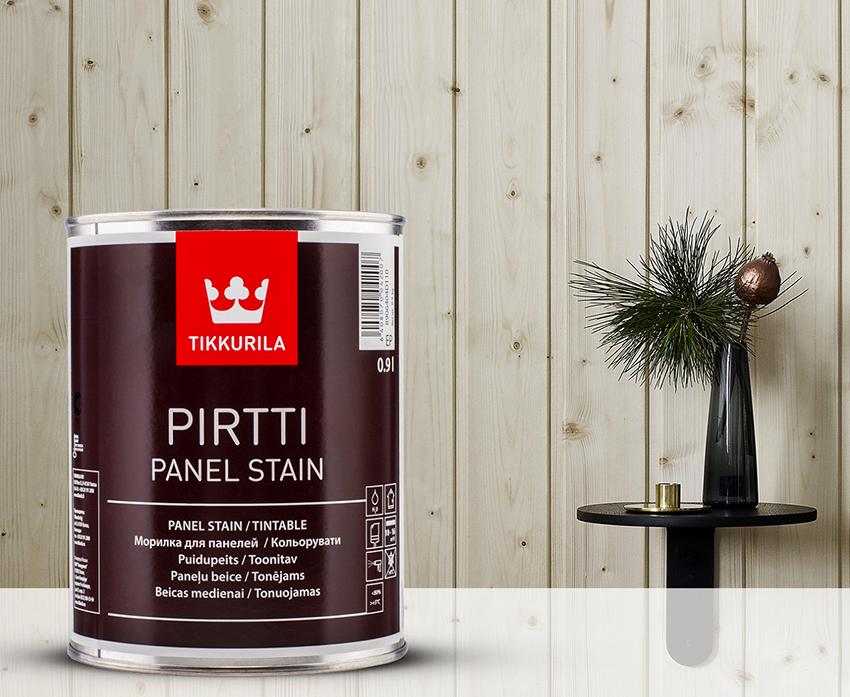Морилки Tikkurila Pirtti отличаются высоким качеством материалов