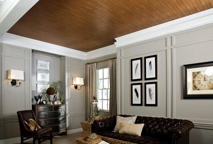Тканевые потолки изготавливаются из полиэфирного полиуретана, благодаря которому полотна характеризуются высокой прочностью