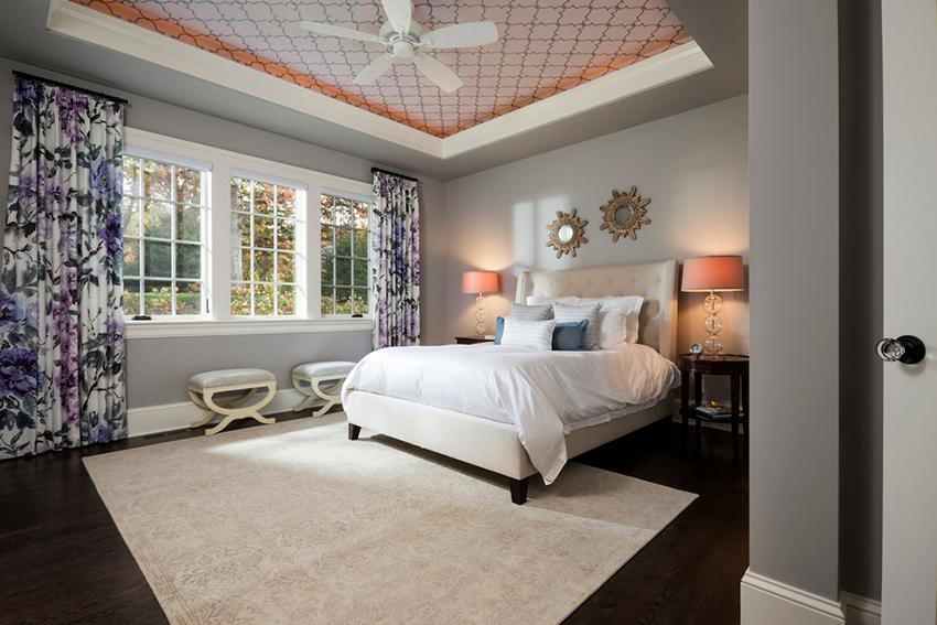 Ситцевые потолки характеризуются длительным сроком службы и эффектным внешним видом