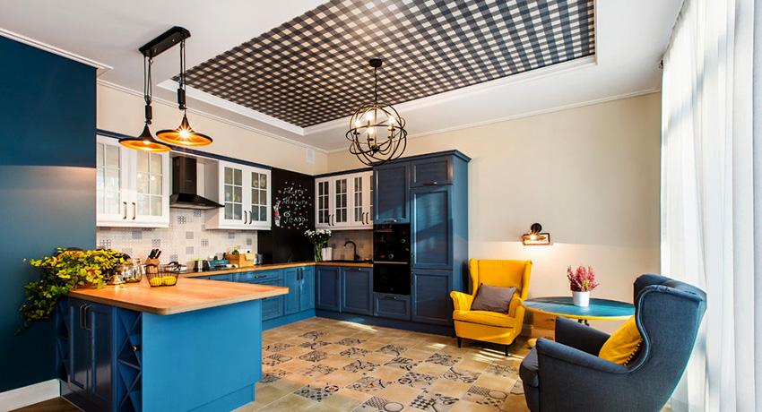 Натяжной потолок тканевый: красиво, надежно, быстро и без лишнего блеска