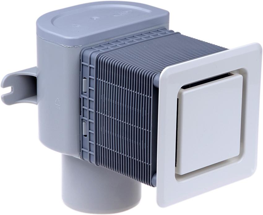 Воздушный клапан препятствует проникновению в помещения неприятного запаха из канализации
