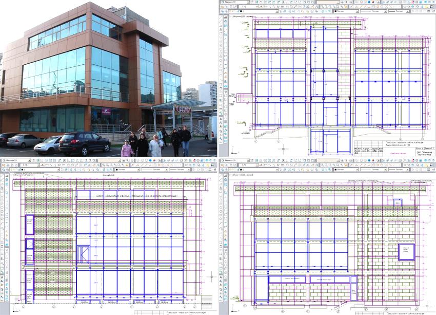 При проектировании вентиляционного фасада необходимо учитывать планировку здания, его внешний вид и конструктивные особенности