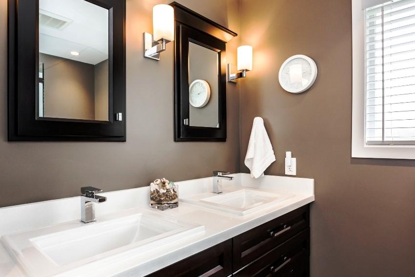 Установка раковины-столешницы в ванную не составит больших трудностей
