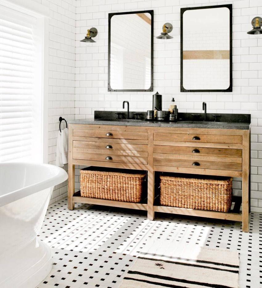 Удобство эксплуатации столешницы под раковину для ванной комнаты во многом зависит от основания, к которому она прикреплена