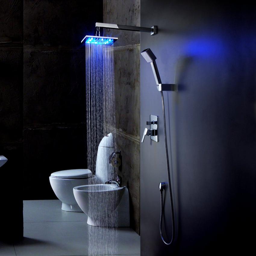 Отзывы о тропическом душе для ванной со смесителем можно разделить на три категории: хорошие, скептические, придирчивые
