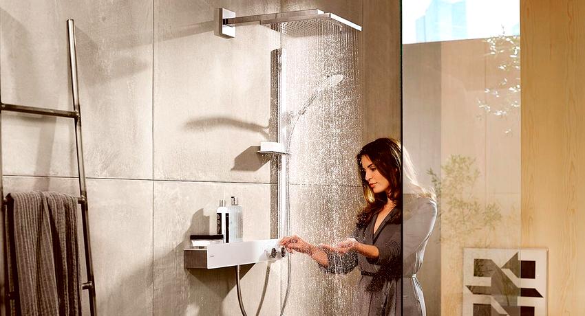 Тропический душ для ванной: какую конструкцию предпочесть