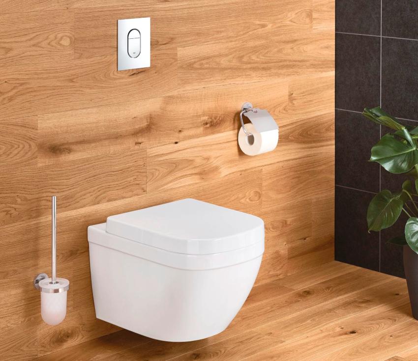 По мнению пользователей, безободковый подвесной унитаз Grohe Euro Ceramic 3920600H является одним из лучших