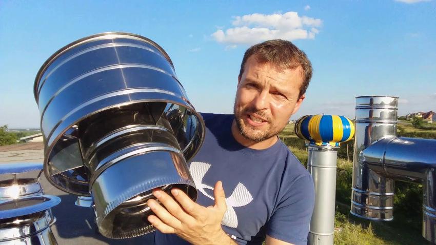 Зонт Волпера успешно компенсирует потерю давления на выходе потока
