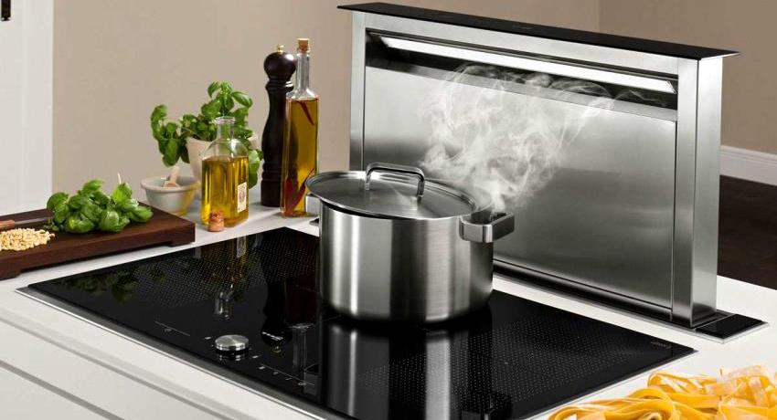 Вытяжка для кухни без отвода в вентиляцию: особенности очистителя воздуха