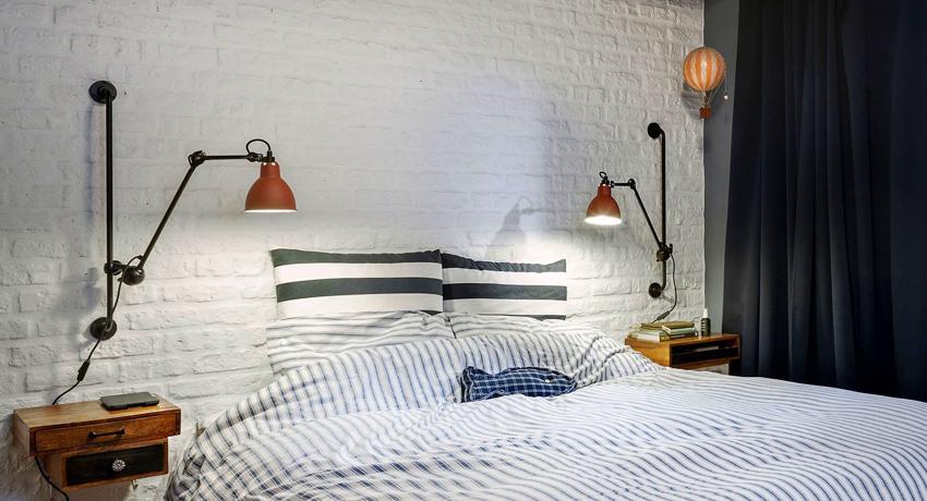 Светильники настенные в спальню для комфортного чтения и отдыха
