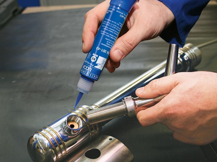Применение анаэробного резьбового герметика в сантехнических работах