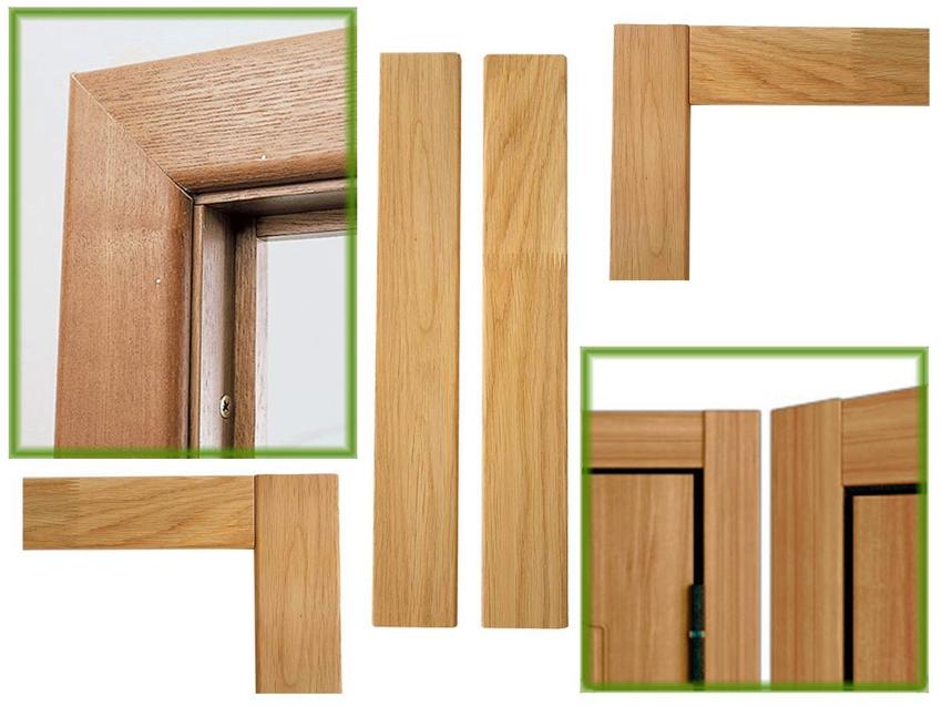 Способы стыковки деревянных наличников