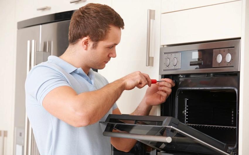 Подключение электрической части - наиболее важный и ответственный момент при монтаже духовки